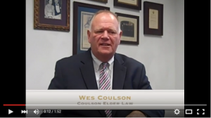 I Coulson Elder Law